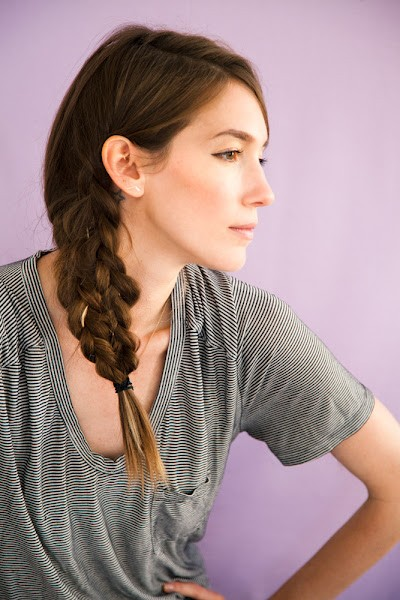 Fishtail Braided Hair Tutorial