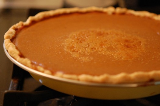 Real pumpkin pumpkin pie recipe