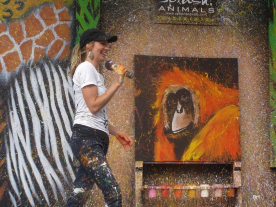 San Diego Zoo Animal Painting Show