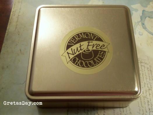 Vermont Nut Free Tin