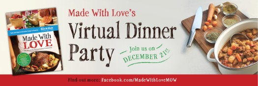 Made with love dinner party