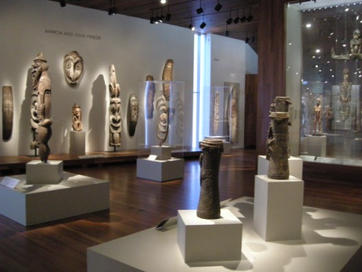 African artifacts on display at de Young Museum