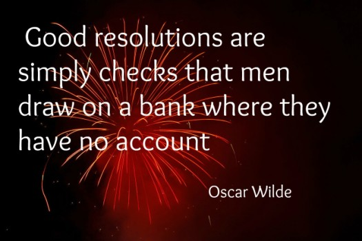 Oscar Wilde New Years Eve Quote