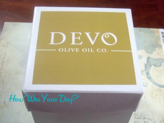 Devo Olive Oil 9 piece sampler