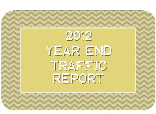 2012 Year End Traffic Report