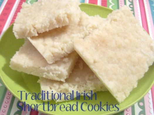 Traditional Irish Shortbread Cookies Recipe