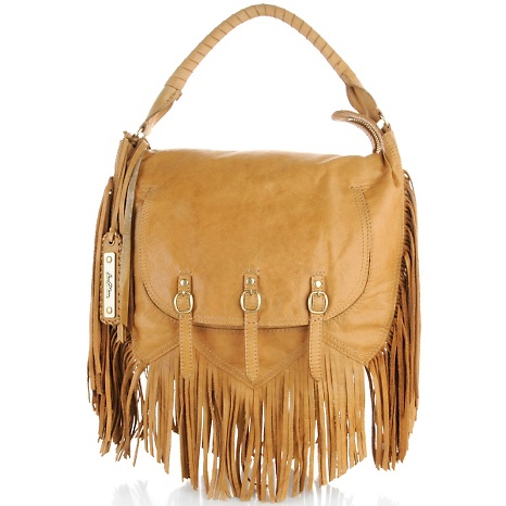 Sam Edelman Fringe Hobo Bag