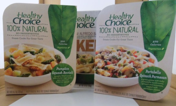 Healthy Choice frozen dinners