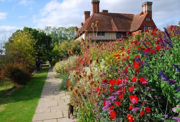 Garden wedding location