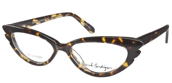 Cat's Eye glasses from Derek Cardigan