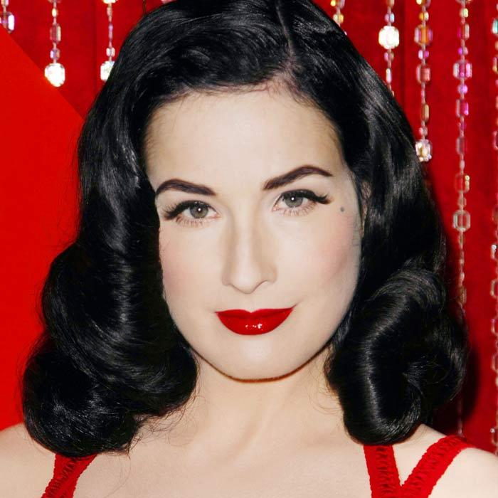 Dita Von Teese Glam Makeup