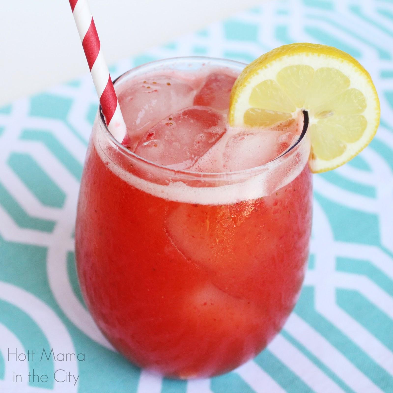Strawberry Mango lemonade