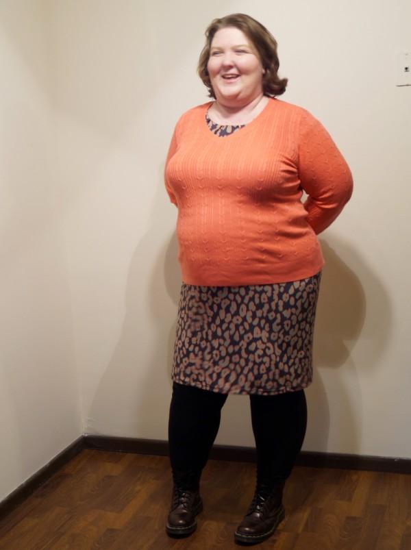 coral-sweater-cheetah-dress-3 (600 x 803)