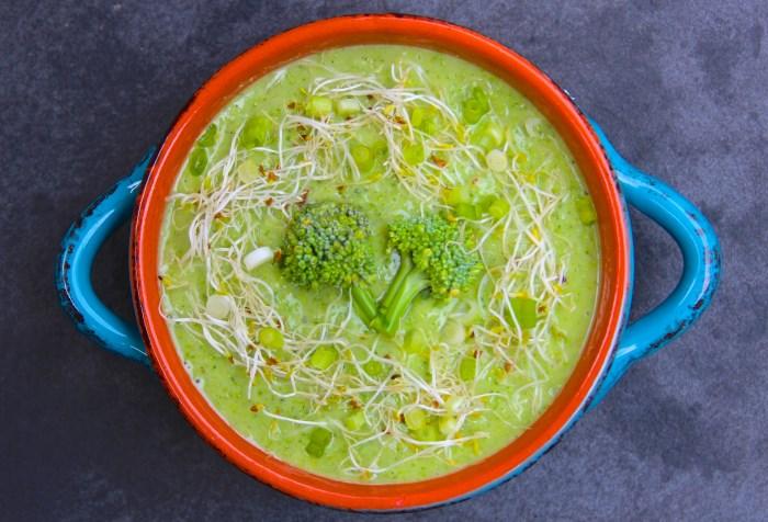 Avocado and Raw Broccoli Soup (700 x 476)