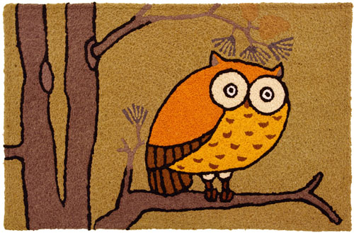 Awesome Owl Jellybean Rug