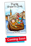 My Friend Paris Goes to Italy Kids Book