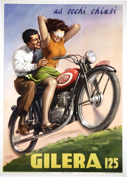 Italian vintage poster artwork