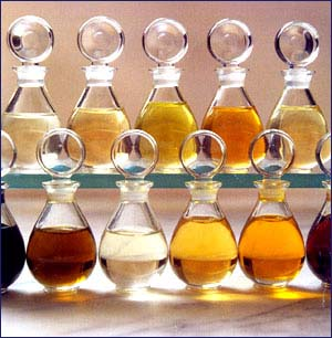Scent memories and perfume oils